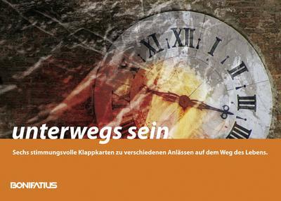 Unterwegs sein: Mappe mit sechs Doppelkarten und Briefumschlägen - Bonifatius - Landkarte, Deutsch, Karin Cordes, ,