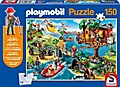 Playmobil Baumhaus. Puzzle 150 Teile (inkl. Playmobil-Figur)