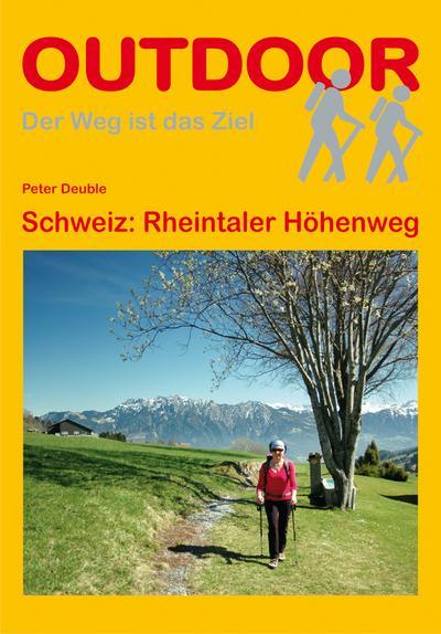 Schweiz: Rheintaler Höhenweg (OutdoorHandbuch)