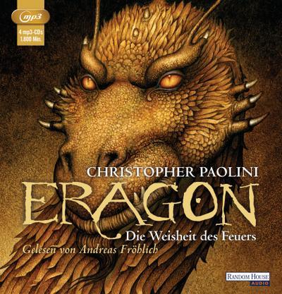 Eragon - Die Weisheit des Feuers  MP3     4 Bde/Tle  Sprecher: Fröhlich, Andreas  Deutsch  Audio-CD  Hörbücher