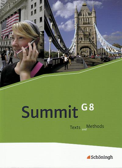 summit-g8-texts-and-methods-schulerbuch-mit-cd-rom