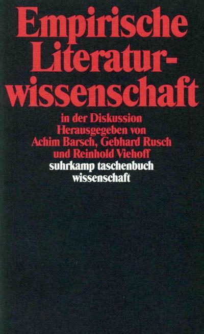 suhrkamp-taschenbuch-wissenschaft-nr-1107-empirische-literaturwissenschaft-in-der-diskussion