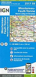 Montereau-Fault-Yonne 1:25 000