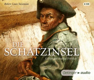 Die Schatzinsel (NA) (4 CD): Gekürzte Lesung, ca. 317 min.