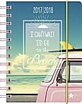 BRUNNEN Schülerkalender/Schüler-Tagebuch 2017/18 Beach PP