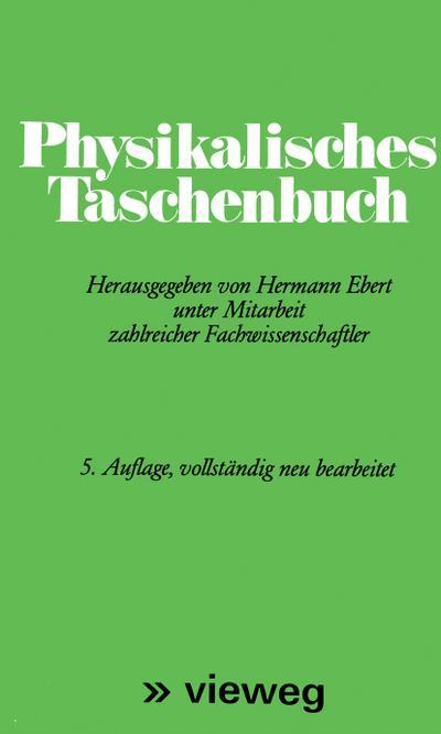 physikalisches-taschenbuch