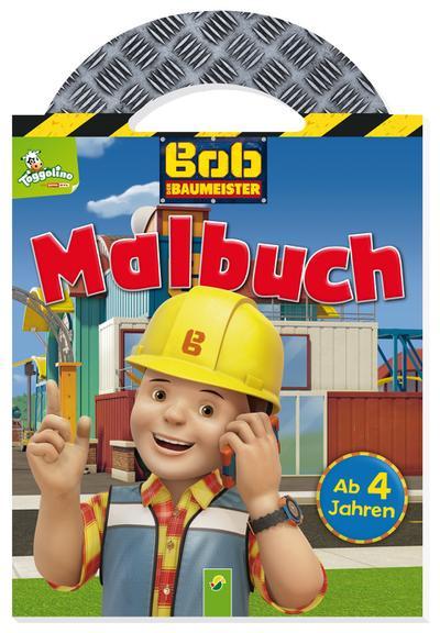 Bob der Baumeister Malbuch mit Tragegriff
