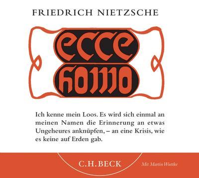 Ecce homo: Hörbuch. Doppel-CD
