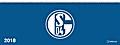 FC Schalke 04 Tischquerkalender 2018