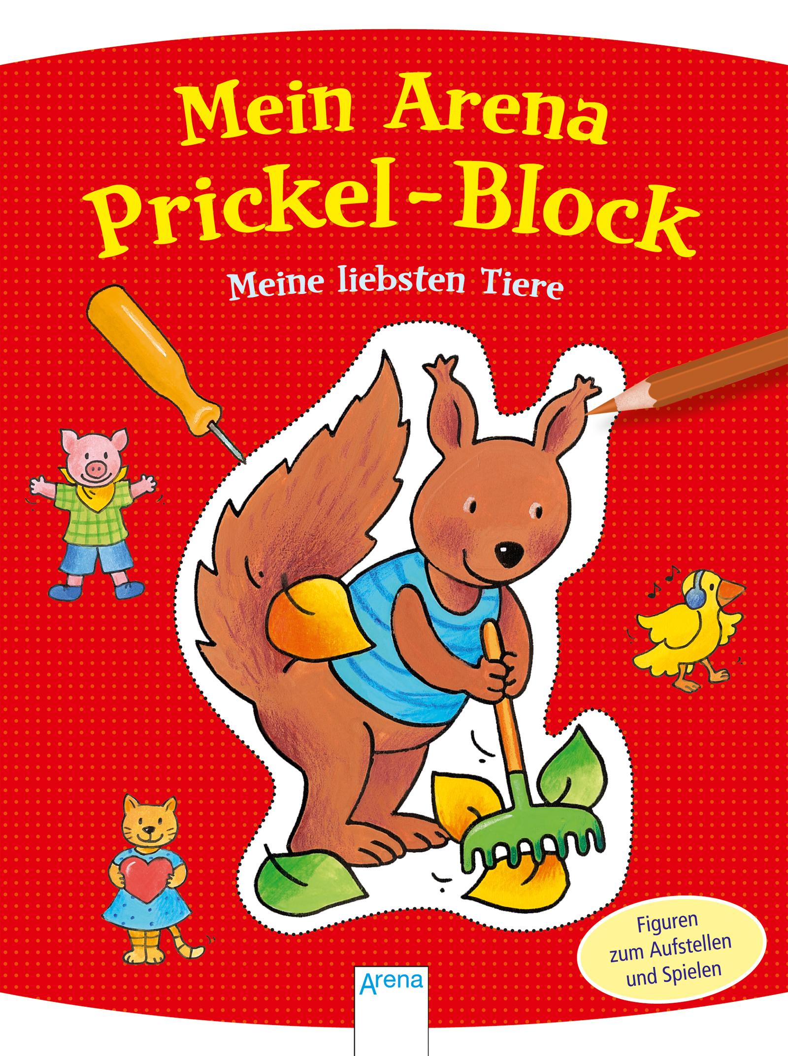 NEU-Mein-Arena-Prickel-Block-Meine-liebsten-Tiere-Corina-Beurenmeister-707280