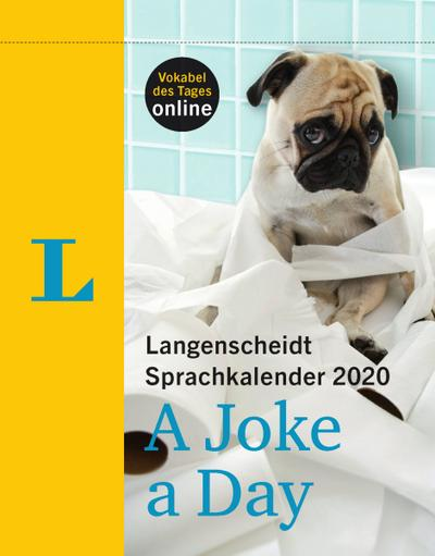 Langenscheidt Sprachkalender 2020 A Joke a Day - Abreißkalender