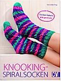 Knooking-Spiralsocken; Socken häkeln wie gest ...