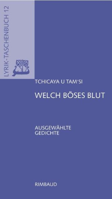 Welch-boeses-Blut-Tchicaya-U-Tam-039-si