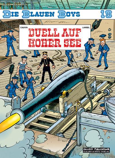 Die Blauen Boys, Band 19, Duell auf hoher See