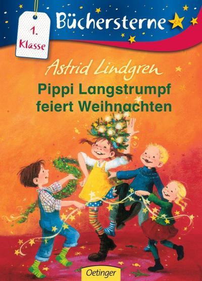 Pippi Langstrumpf feiert Weihnachten (Büchersterne)