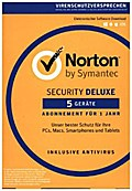 Norton Security Deluxe 3.0, 5 Geräte, Download-Code
