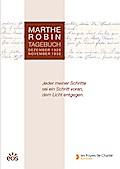 Marthe Robin - Tagebuch