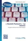 « Hewlett Packard » : La relance