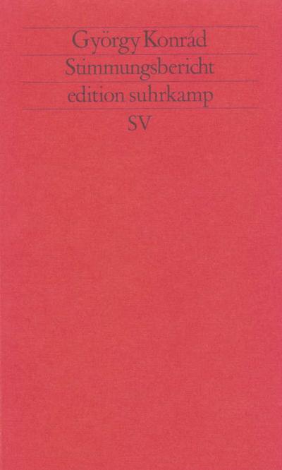 Stimmungsbericht (edition suhrkamp)