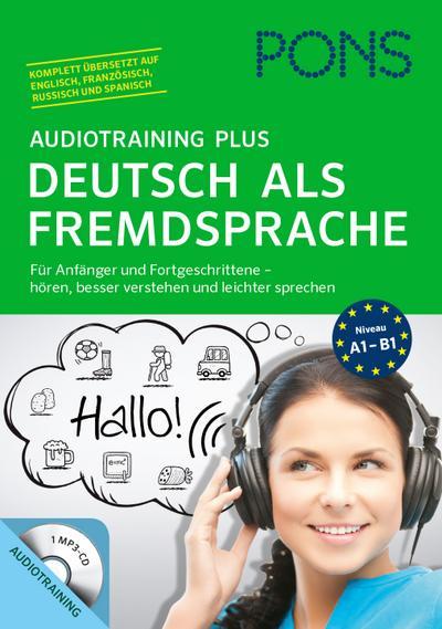 pons-audiotraining-plus-deutsch-als-fremdsprache-fur-anfanger-und-fortgeschrittene-horen-leichte