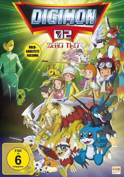 Digimon Adventure - Staffel 2, Volume 1: Episode 01-17 im Sammelschuber. Überarbeitete Fassung
