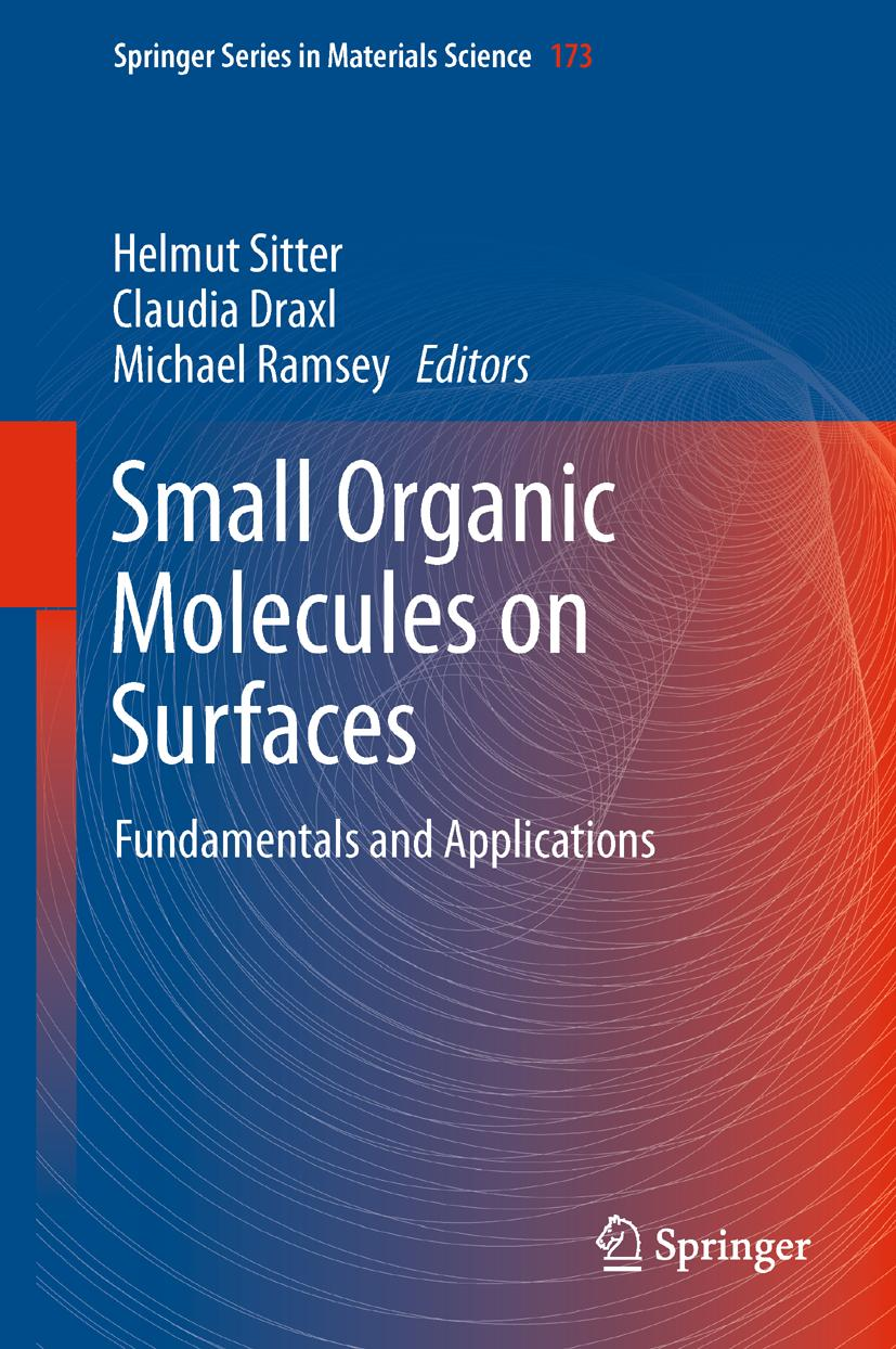 Small Organic Molecules on Surfaces Helmut Sitter