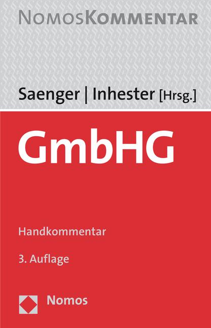 GmbHG, Ingo Saenger