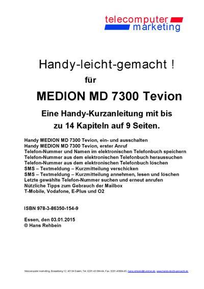 Medion MD 7300 Tevion-leicht-gemacht