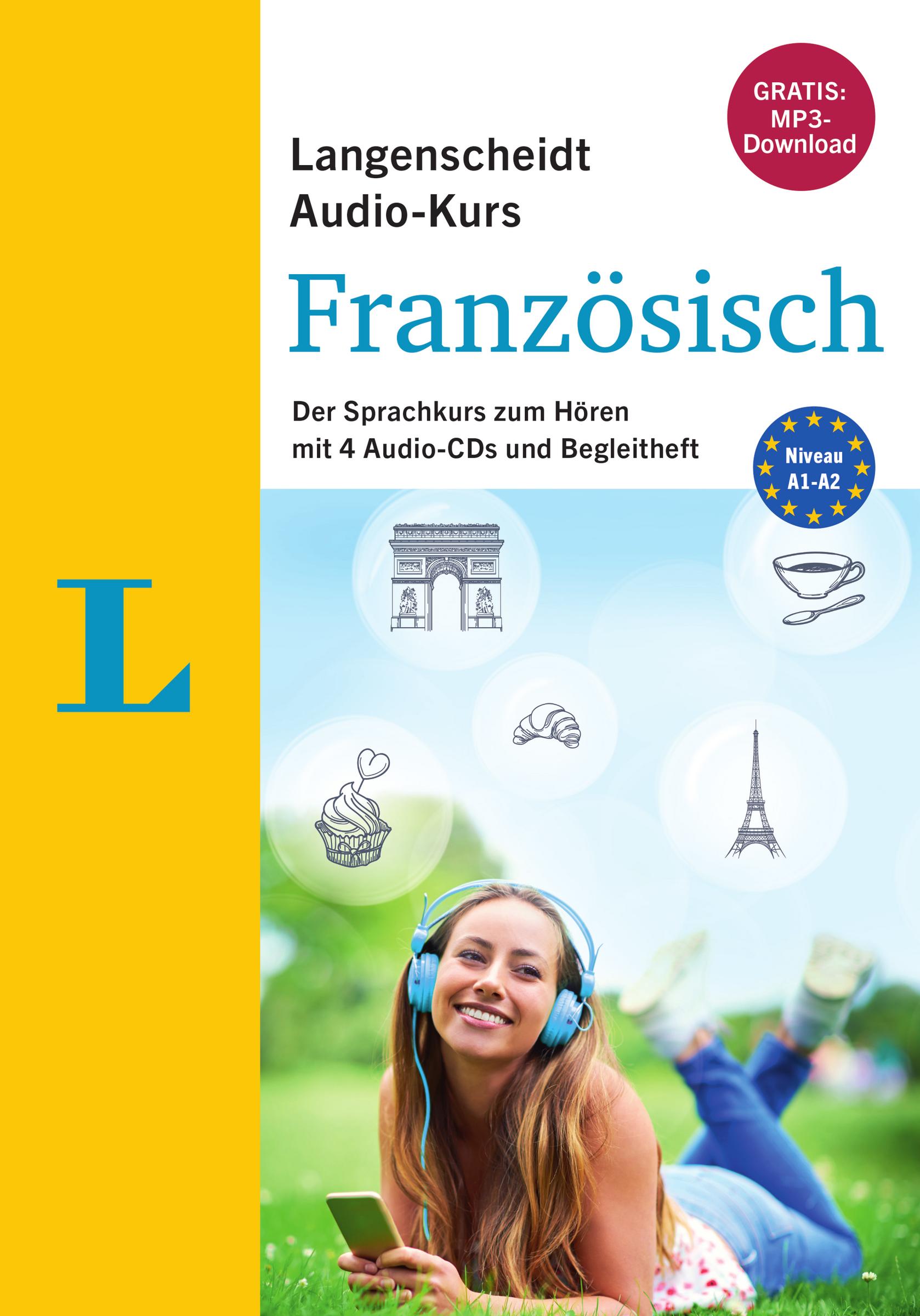 Langenscheidt-Audio-Kurs-Franzoesisch-Audio-CDs-mit-Begleitheft-Redaktion