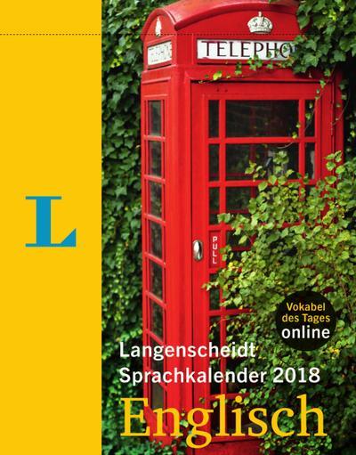 Langenscheidt Sprachkalender 2018 Englisch - Abreißkalender