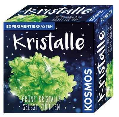 KOSMOS Experimentierkästen Kristalle Grün, Experimentierkasten, Experimente, Kristallzucht, ab 10 Jahren, 656041 - Franckh-Kosmos Verlags-Gmbh & Co. KG - Spielzeug, Deutsch, , ,