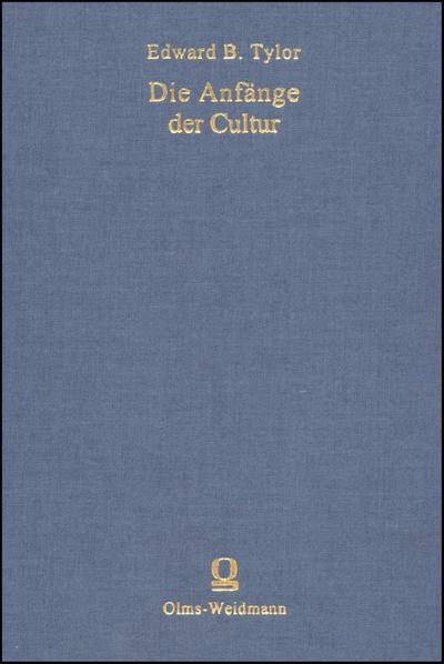 Anfänge d. Cultur 2 Bde