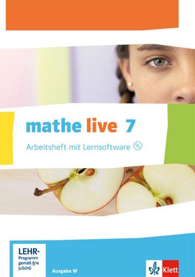 mathe-live-7-ausgabe-w-arbeitsheft-mit-losungsheft-und-lernsoftware-klasse-7-mathe-live-ausgabe-