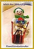 9783665615826 - Helmut Schneller: Welt der Häckelfiguren (Tischkalender 2018 DIN A5 hoch) - Familienkalender Häckelfiguren (auch Amigurumi genannt) (Planer, 14 Seiten ) - کتاب