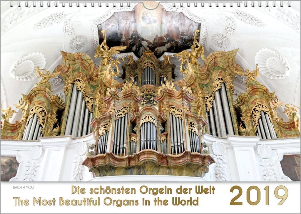 Musik-Kalender-2019-Die-schoensten-Orgeln-der-Welt-DIN-A-3-Peter-Bach-jr