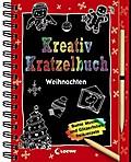 Kreativ-Kratzelbuch; Weihnachten   ; mit Spir ...