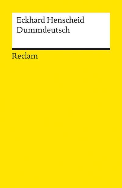 dummdeutsch-ein-worterbuch-reclams-universal-bibliothek-