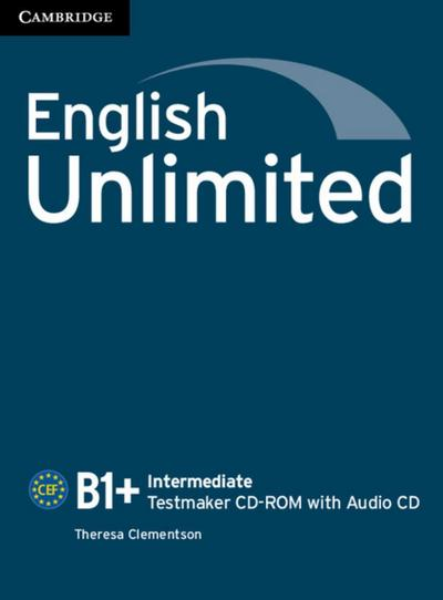 English Unlimited B1+: Intermediate Testmaker CD-ROM + Audio-CD - Klett Sprachen - CD-ROM, Englisch, , ,