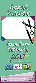Bastelkalender Familientermine 2017