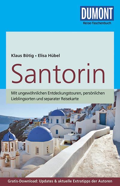DuMont Reise-Taschenbuch Reiseführer Santorin: mit Online-Updates als Gratis-Download