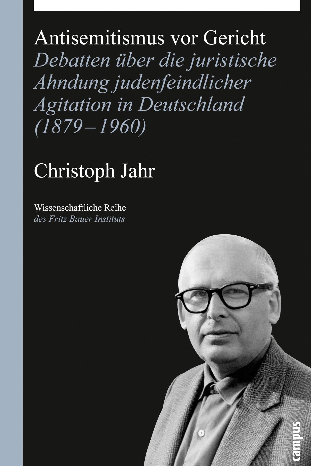 Antisemitismus vor Gericht - Christoph Jahr -  9783593390581