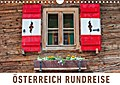 Österreich Rundreise (Wandkalender 2017 DIN A4 quer)
