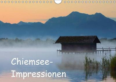 Chiemsee-Impressionen (Wandkalender 2017 DIN A4 quer)