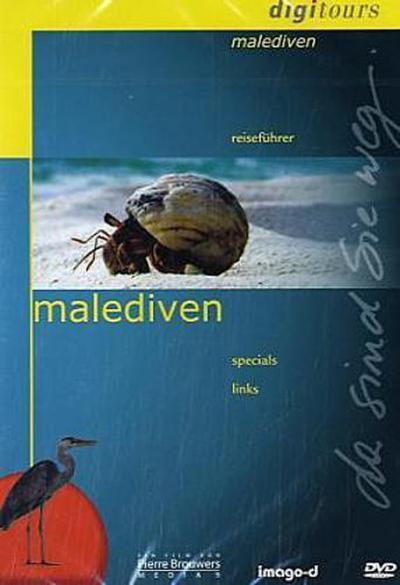 Malediven - Digitours - MAWA Film-Und Medien Verlags Gmbh - DVD, Deutsch, , Reiseführer, Specials, Links, Reiseführer, Specials, Links