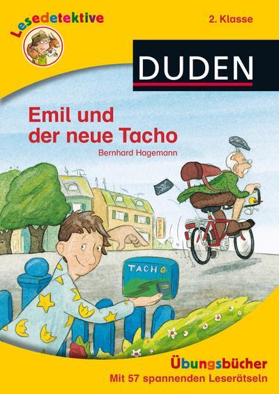 Lesedetektive Übungsbuch: Emil und der neue Tacho, 2. Klasse (DUDEN Lesedetektive Übungsbücher)