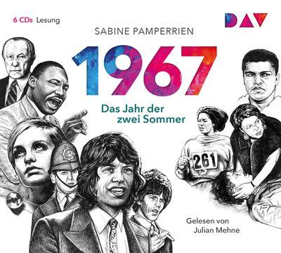 1967 - Das Jahr der zwei Sommer: Lesung mit Julian Mehne (6 CDs)