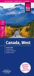 Reise Know-How Landkarte Kanada West (1:1.900 ...