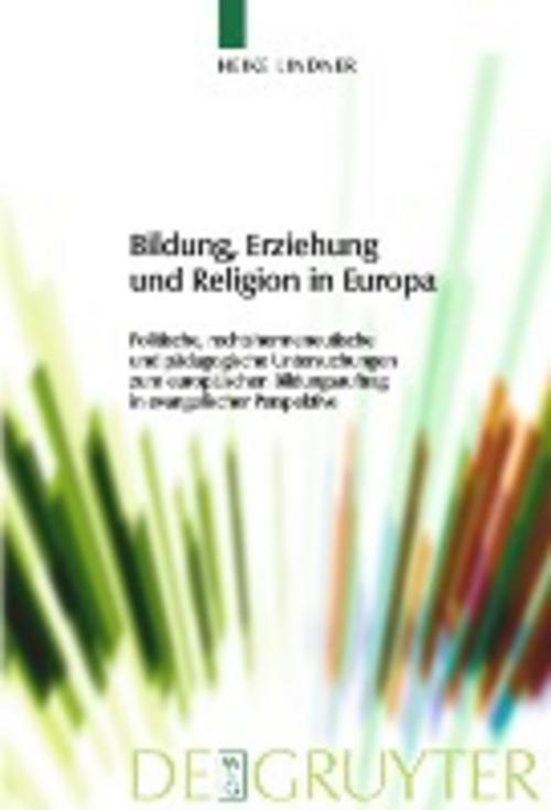 Bildung-Erziehung-und-Religion-in-Europa-Heike-Lindner