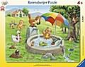 Badespaß im Sommer (Rahmenpuzzle)