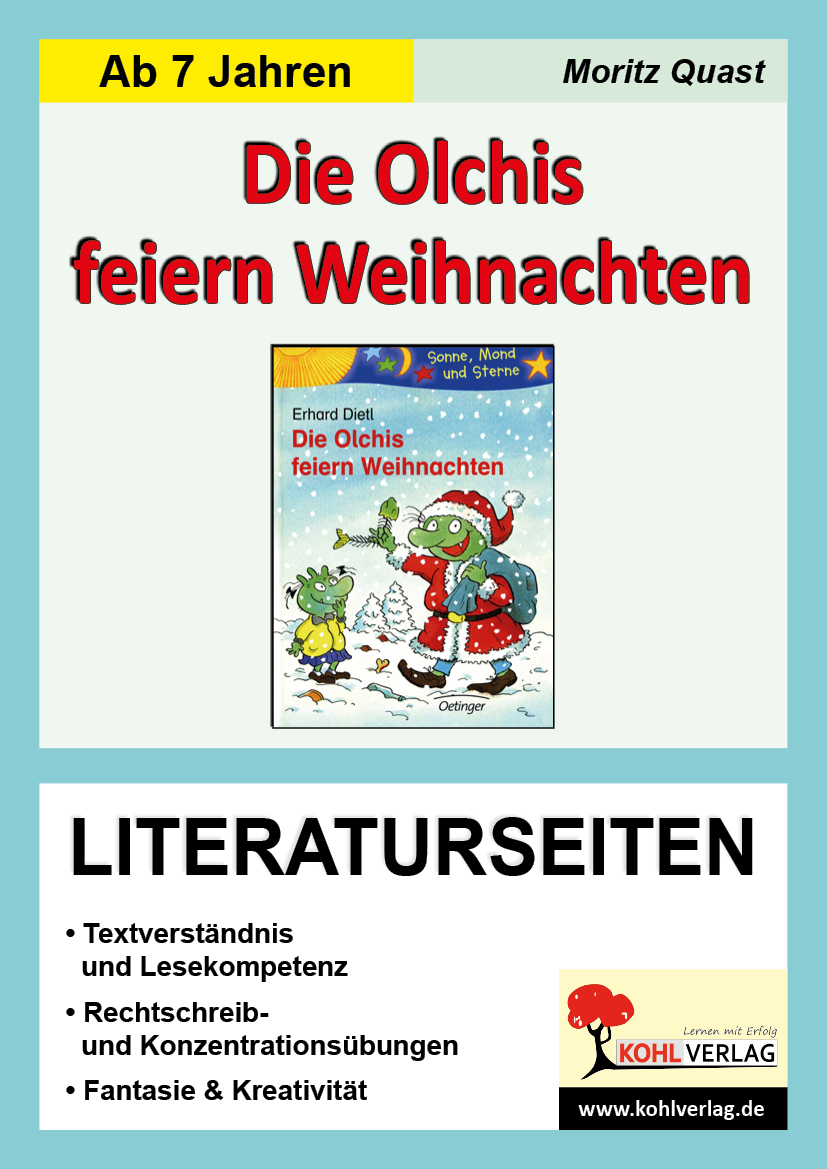 Erhard Dietl \'Die Olchis feiern Weihnachten\', Literaturseiten Moritz ...
